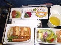 ANA機内食朝食