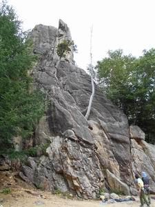 フェニックスの大岩