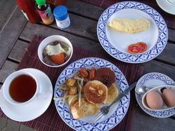 トンサイベイリゾートの朝食