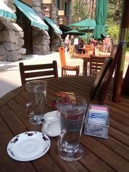アワニーホテルでお茶を