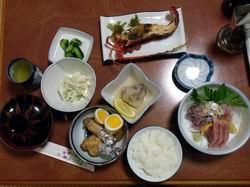 伊勢海老の夕食