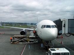 DL617便 ポートランド空港