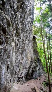 神戸の岩場